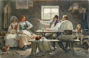 The Seducer, 1903. Artist: Buchholz, Fyodor Fyodorovich (1857-1942)
