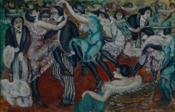 Café chantant, 1913. Artist: Grigoriev, Boris Dmitryevich (1886-1939)