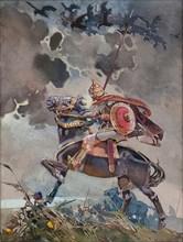 Horseman. Artist: Karasin, Nikolai Nikolayevich (1842-1908)