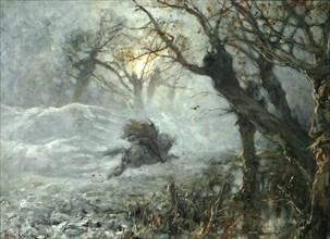 The King of the woods, ca 1887. Artist: Klever, Juli Julievich (Julius), von (1850-1924)