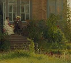 Artist's Dacha at Siverskaya, 1883. Artist: Kramskoi, Ivan Nikolayevich (1837-1887)