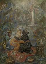 Oriental Scene. Artist: Millioti, Vasili Dmitrievich (1875-1943)