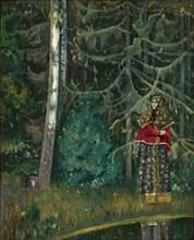 Fairy tale, 1921. Artist: Nesterov, Mikhail Vasilyevich (1862-1942)