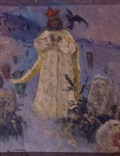 Tsarevna (The Princess), 1887. Artist: Nesterov, Mikhail Vasilyevich (1862-1942)