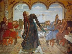 The Frog Princess, 1901-1918. Artist: Vasnetsov, Viktor Mikhaylovich (1848-1926)