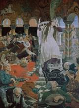 The Princess Who Never Smiled (Nesmeyana), 1914-1916. Artist: Vasnetsov, Viktor Mikhaylovich (1848-1926)