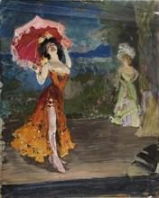 Dancer, Early 1900s. Artist: Vinogradov, Sergei Arsenyevich (1869-1938)