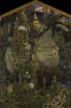 Bogatyr, 1898. Artist: Vrubel, Mikhail Alexandrovich (1856-1910)
