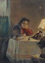 A Girl Student, 1904. Artist: Myasoedov, Grigori Grigoryevich (1834-1911)