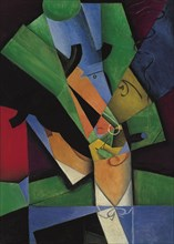 The Smoker (Frank Haviland), 1913. Artist: Gris, Juan (1887-1927)