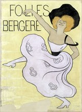 """Cappiello, affiche """"Folies Bergère"""""""