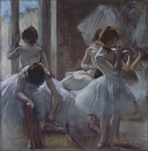 Dancers (Danseuses), 1884-1885. Artist: Degas, Edgar (1834-1917)