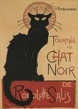 Tournee du Chat Noir, 1896. Artist: Steinlen, Théophile Alexandre (1859-1923)