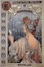 Manufacture Royale, 1897. Artist: Privat-Livemont, Henri (1861?1936)