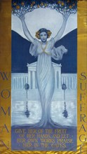 Woman suffrage, c. 1905. Artist: Cary (Rumsey), Evelyn (1855-1924)