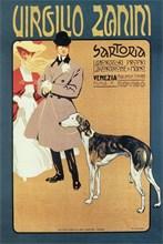 Virgilio Zanini Tailoring, 1900. Artist: Sormani, Gian Luciano (1867-1938)