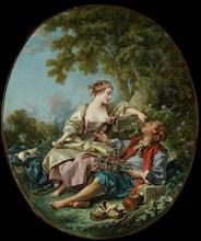 The Wooden Shoes (Les Sabots), 1768. Artist: Boucher, François (1703-1770)