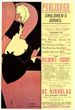 Publisher. Children's Books, 1894. Artist: Beardsley, Aubrey (1872?1898)