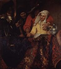 The Procuress, 1656. Artist: Vermeer, Jan (Johannes) (1632-1675)
