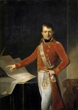 Portrait of Napoleon Bonaparte as First Consul. Artist: Girodet de Roucy Trioson, Anne Louis (1767-1824)