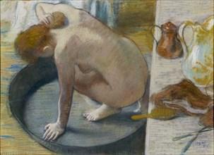 The tub. Artist: Degas, Edgar (1834-1917)