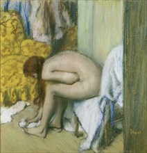 After the Bath. Artist: Degas, Edgar (1834-1917)