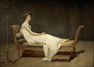 Madame Récamier, née Julie Bernard (1777-1849). Artist: David, Jacques Louis (1748-1825)
