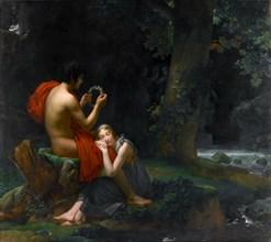 Daphnis and Chloë. Artist: Gérard, François Pascal Simon (1770-1837)