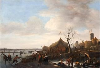Winter scene. Artist: Steen, Jan Havicksz (1626-1679)