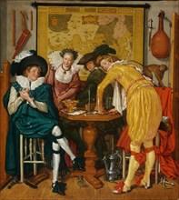 Merry company. Artist: Buytewech, Willem Pietersz. (1591/92-1624)