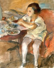 Breakfast (Lunch). Artist: Pascin, Jules (1885-1930)