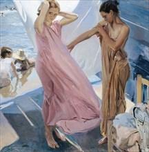 After the Bath. Artist: Sorolla y Bastida, Joaquín (1863-1923)