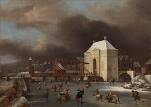 View of the Heiligewegspoort in Amsterdam. Artist: Kessel, Jan van (1641-1680)