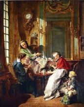 Morning Coffee (Le Déjeuner), 1739. Artist: Boucher, François (1703-1770)