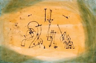 Abstract Trio, 1923. Artist: Klee, Paul (1879-1940)
