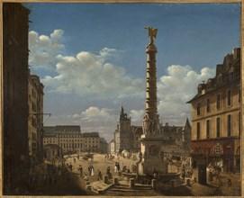 La Fontaine du Palmier in the Place du Châtelet.