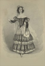 Mademoiselle Schieroni as Susanna in Le Nozze di Figaro by Wolfgang Amadeus Mozart.