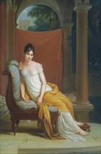 Portrait of Madame Récamier, née Julie Bernard (1777-1849), .