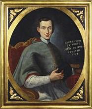 Portrait of the opera librettist and poet Lorenzo Da Ponte (1749-1838) as Bishop, 1759.