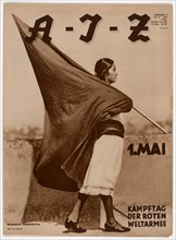 Woman with Flag, 1931.