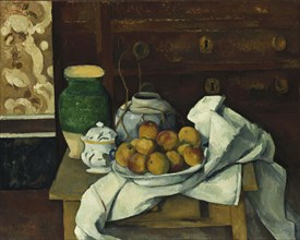 Still life with commode, ca 1883-1887.