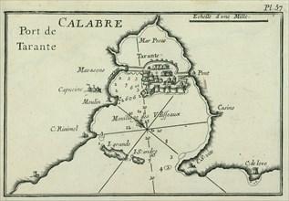 Port of Taranto (Tarentum), 1764.