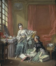 The Milliner, 1746.