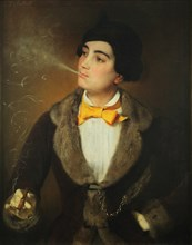 The Emancipated One. Portrait of Louise Aston (1814-1871), c. 1847.