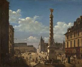 La Fontaine du Palmier on the Place du Châtelet, 1810.