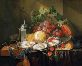 Breakfast still life, 1660-1670.