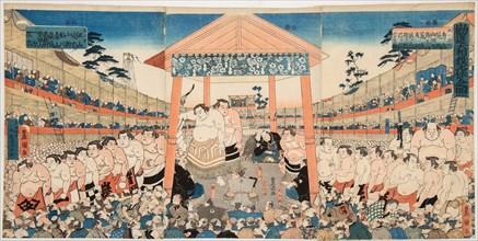 Kanjin Ozumo, c. 1850.