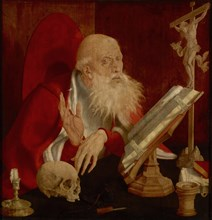 Saint Jerome in his Cell, ca 1545.