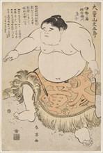 Sumo Wrestler Daidozan Bungoro at the age of 7, .