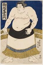 Sumo Wrestler Goyogi Kumoemon, 1840s.